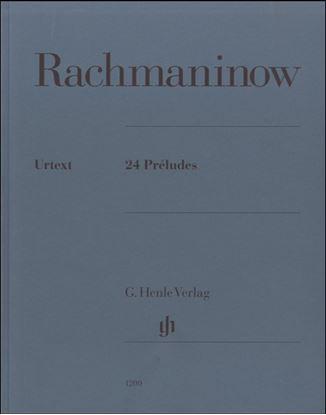ラフマニノフ 24のプレリュード の画像