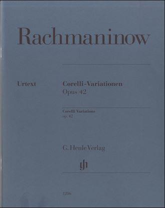 コレッリの主題による変奏曲 OP.42ラフマニノフ SERGEI の画像