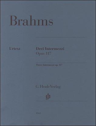 (1042)ブラームス 3つの間奏曲 Op.117 の画像