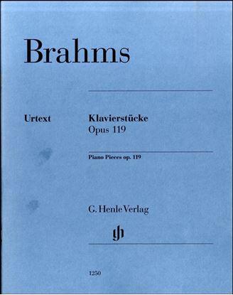 (1250)ブラームス 4つの小品OP.119 の画像