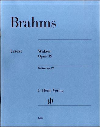 (1286)ブラームス ワルツ集OP.39 の画像