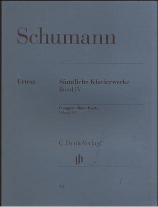 (926)シューマン ピアノ曲集(4) の画像