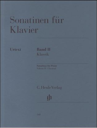 (340)ソナチネ集 第2巻/原典版 の画像