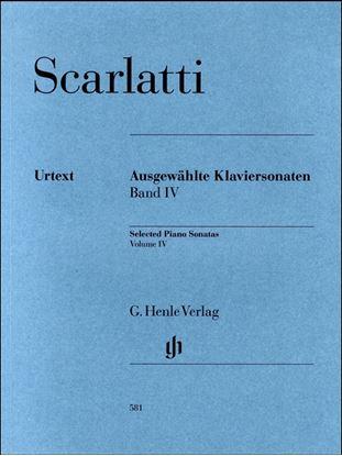 (581)スカルラッティ ソナタ選集第4巻 の画像
