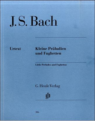 (106)バッハ 小プレリュードと小フーガ の画像