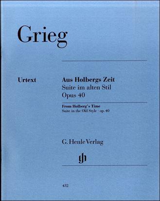(432)グリーグ ホルベルク組曲 Op.40 の画像