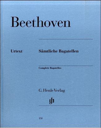 (158)ベートーヴェン バガテル全集 の画像