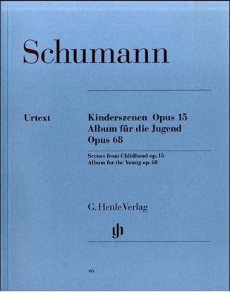 (46)シューマン 子供の情景/ユーゲント・アルバム の画像