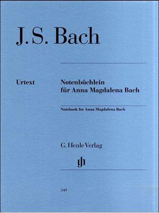 (349)バッハ アンナマグダレーナのためのクラヴィーア小曲集 の画像