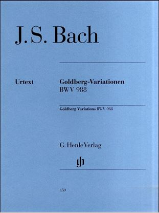 (159)バッハ ゴールドベルグ変奏曲 BWV 988 の画像