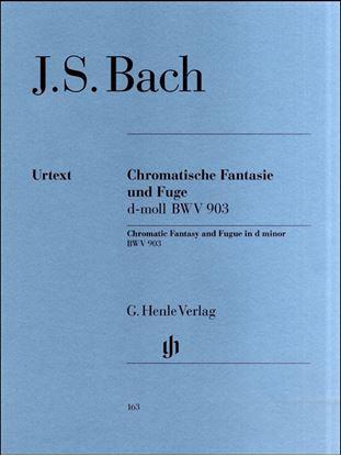 (163)バッハ 半音階的幻想曲とフーガ ニ短調 BWV 903 の画像