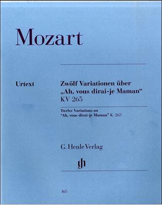 (165)モーツァルト ピース「キラキラ星」変奏曲 の画像