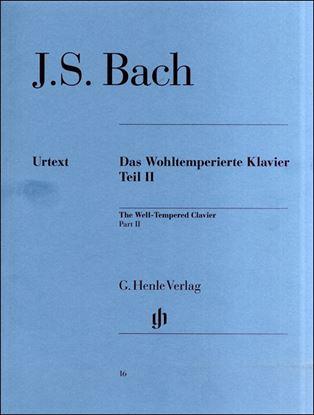 (16)バッハ 平均律クラヴィーア曲集(2)BWV 870-893/原典版 の画像