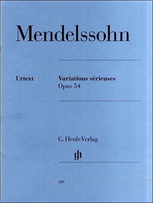 (620)メンデルスゾーン 厳格なる変奏曲 Op.54/原典版 の画像