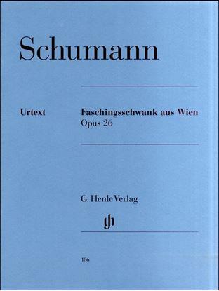 (186)シューマン ウィーンの謝肉祭の道化 Op.26/原典版 の画像
