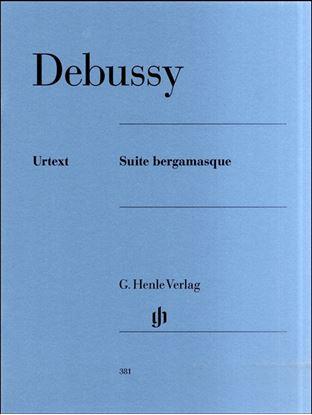 (381)ドビュッシー ベルガマスク組曲/原典版 の画像