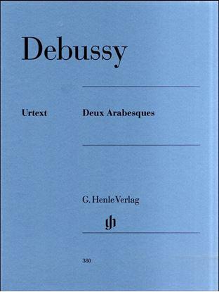 (380)ドビュッシー 2つのアラベスク/原典版 の画像