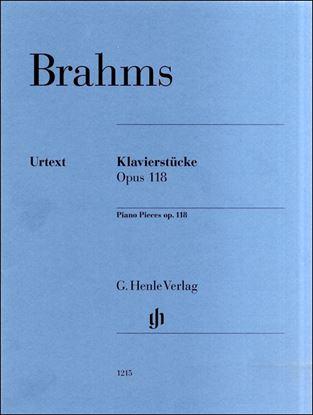 (1215)ブラームス 6つの小品 Op.118 の画像