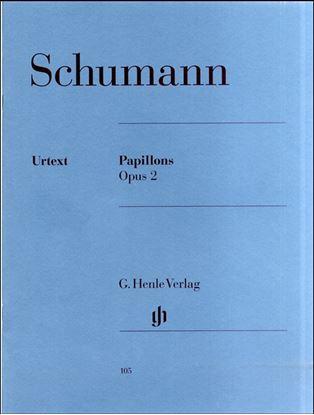 (105)シューマン 蝶々Op.2/原典版 の画像