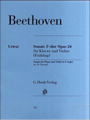 (162)ベートーヴェン ヴァイオリンソナタ第5番「スプリング」 の画像