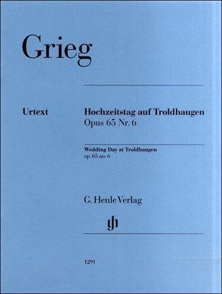 (1291)グリーグ トロルハウゲンの婚礼の日 Op.65/6 の画像